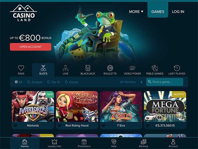 CasinoLandLobby